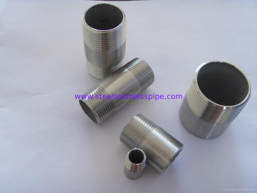 Butt Weld Fittings,Nickel Alloy Pipe Nipple, stainless steel pipe nipple, Pipe Nipple, Hex Nipple, Swage Nipple