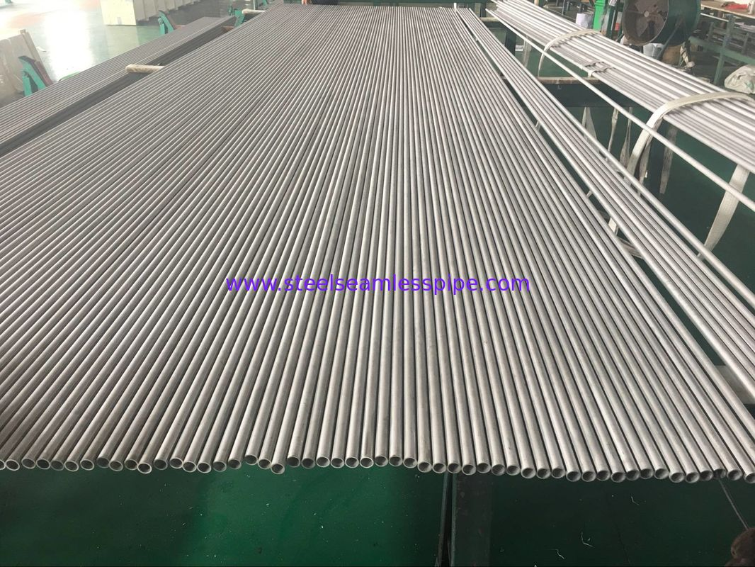 Stainless Steel Seamless Tube, ASTM A213 TP304, TP304L,TP316L, SUS04, SUS316L, 1.4404, 6M, Min. Wall Thk., 3/4'' 16BWG