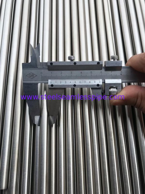 Nickel Alloy Steel Seamless Pipe Corrosion Resistance For Heat Exchanger