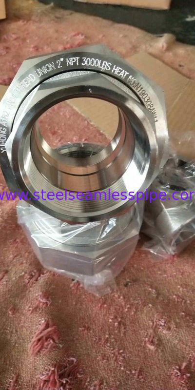 Corrosion Resistance Forged Steel Fittings 15NB - 100NB High Performance