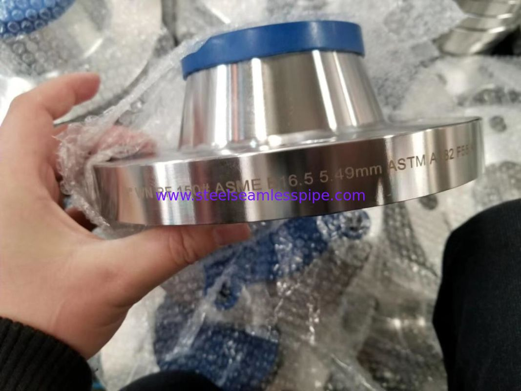 ASTM A182 F316 Forged Steel Flanges SORF / SOFF / WNRF Type AD2000 Certification
