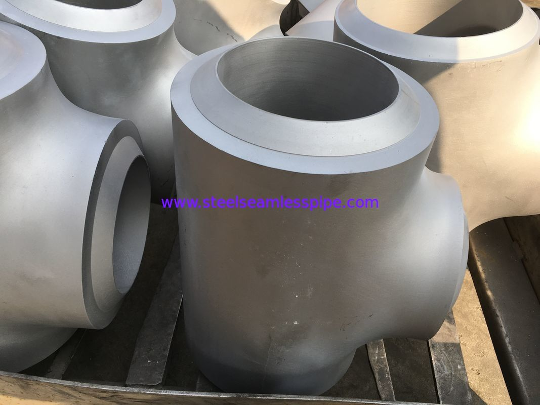 ASTM B366 Inconel 800H Butt Weld Fittings Equal Tee And Reducer Tee, Elbow, Cap High Performance